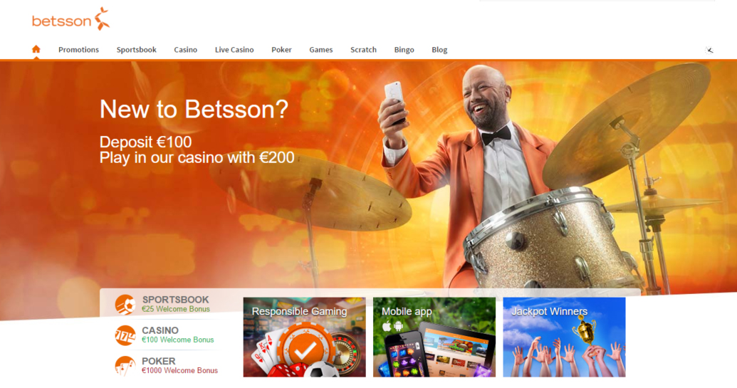 Betsson Casino Review: Claim Bonuses and Mobile Promotions