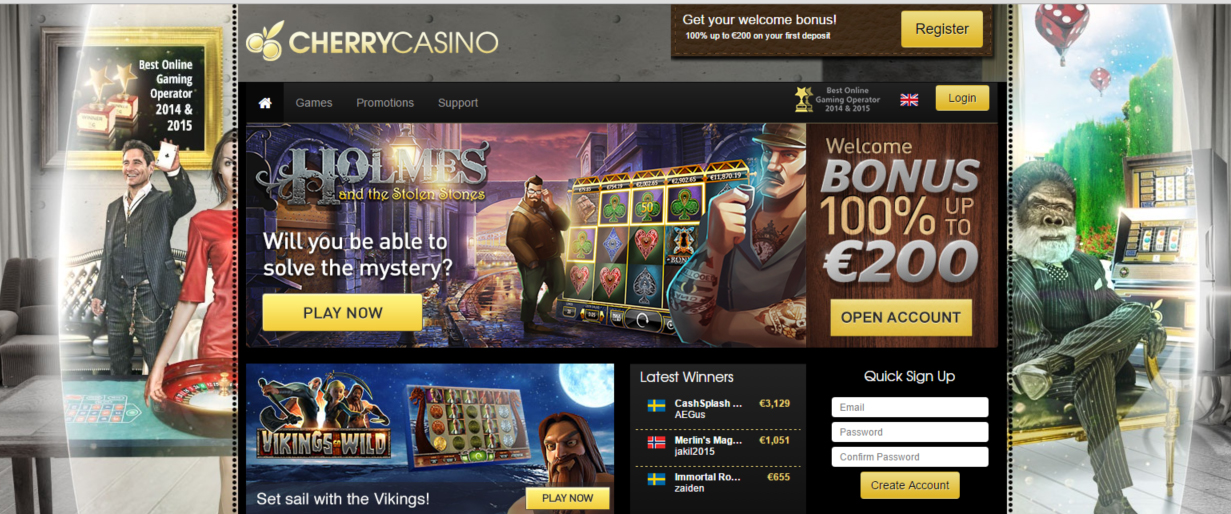cherry casino reviews